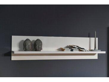 Places of Style Wandboard »Piano«, hochwertig UV lackiert, grau, Beige Hochglanz