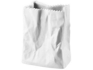 Rosenthal Tischvase »Do not litter Weiß matt Tütenvase 10 cm« (1 Stück)