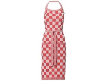 Knit Factory Tischdecke »Küchenschürze Block Ecru/Rot«