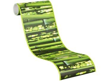 A.S. Création Vinyltapete, -, Bambus Vinyl Borte Bordüre Stick Ups Grün Wandtapete Tapete