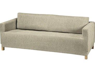 Dohle&Menk Sofahusse »Teide«, monoelastische Stretchware mit hohem Baumwollanteil, natur, 3-Sitzer, natur