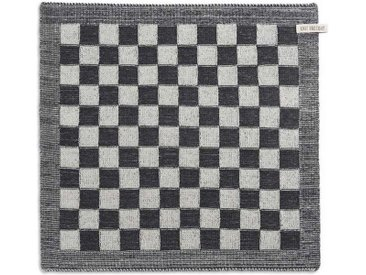 Knit Factory Tischdecke »Küchentuch Block Ecru/Anthrazit«
