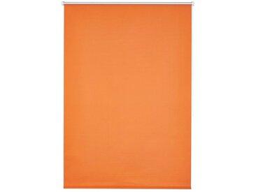 K-HOME Seitenzugrollo »Klemmfix-Rollo«, verdunkelnd, ohne Bohren, 1 Stück, orange, orange