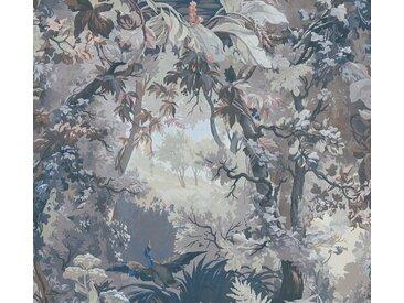 A.S. Création Vliestapete »History of Art«, botanisch, Wald, grün, weiß-altgrün-blau