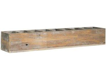 Ib Laursen Holzkiste »Holzkiste Besteckkasten Köcher Kiste Box Holz Shabby 9 Fächer Laursen 5249-14«