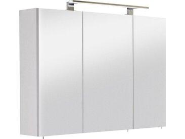OPTIFIT Spiegelschrank »Mino« Breite 100 cm, weiß, Seidenglanz weiß