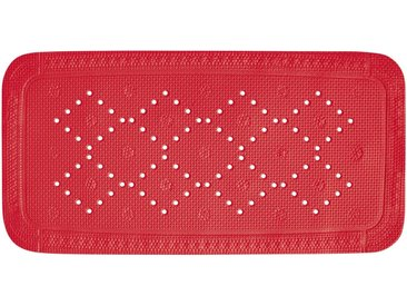spirella Duscheinlage »ALASKA«, B: 36 cm, L: 71 cm, besonders rutschfest, BxH: 71 x 36 cm, rot, rot