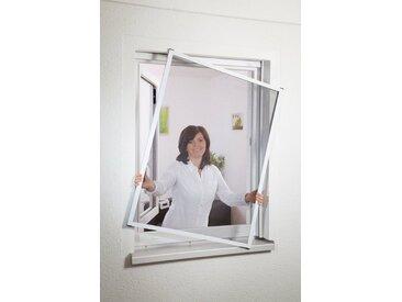 hecht international HECHT Insektenschutz-Fenster »MASTER SLIM«, weiß/anthrazit, BxH: 80x100 cm, grau, Fenster, 80 cm x 100 cm, anthrazit