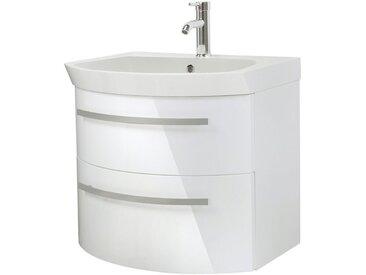 Oristo Waschtisch »Flow«, Breite 65 cm, weiß, weiß