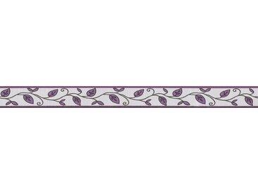 A.S. Création Bordüre »Only Borders«, strukturiert, Retro, mit Blumen, floral, selbstklebend, lila, creme-lila