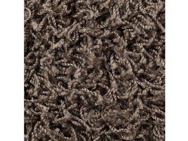 Bodenmeister BODENMEISTER Teppichboden »Hochflor Velours«, Meterware, Breite 400/500 cm, grau, beige/grau