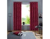 DELAVITA Vorhang »Ornamente«, Kräuselband (1 Stück), rot, burgund