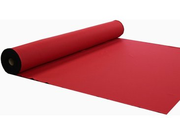 VHG Meterware »Leon«, (1 Stück), Verdunkelung, Dim Out, Deko, Breite 150 cm, rot, rot