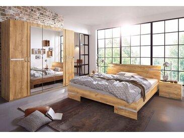 Wimex Schlafzimmer-Set »Anna«, (Set, 4-tlg), natur, plankeneichefarben