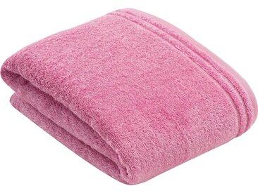 Vossen Badetuch »Calypso« (1-St), mit schmaler Bordüre, rosa, pretty pink