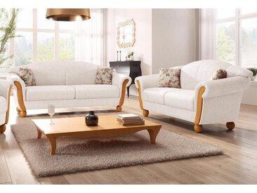 Home affaire Sitzgruppe »Milano«, (2-tlg), 2-Sitzer und 3-Sitzer, natur, sand