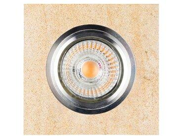 SPOT Light Deckenstrahler »Vitar«, 1-flammig, Inklusive austauschbare LED-Leuchtmittel, Naturlicher Sandstein, Naturprodukt aus Naturstein