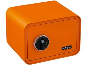 BASI Tresor »mySafe 350«, mit Fingerabdruck, orange, orange