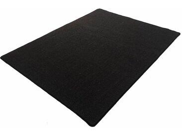 Living Line Sisalteppich »Trumpf«, rechteckig, Höhe 6 mm, Obermaterial: 100% Sisal, schwarz, schwarz