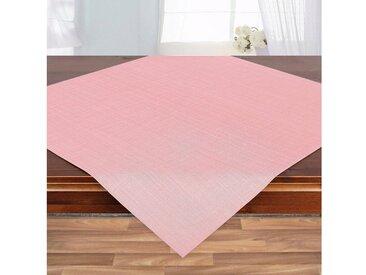 Delindo Lifestyle Mitteldecke »WIEN«, Fleckabweisend, pflegeleicht, 180 g/m², rosa, rosa