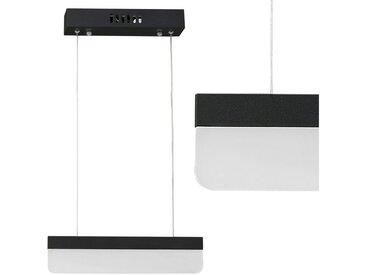 lux.pro LED-Hängeleuchte, »SLIM LINE« LED Hängelampe schwarz