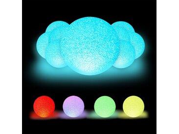 relaxdays LED Kugelleuchte »10 x LED Kugelleuchte mit Farbwechsel«