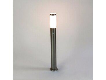 Licht-Erlebnisse Sockelleuchte »BRIGHTON«, Wegeleuchte mit Bewegungsmelder 80 cm IP44 E27 Gartenlampe