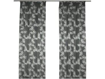 Wirth Vorhang »Angie«, Kräuselband (1 Stück), grau, anthrazit