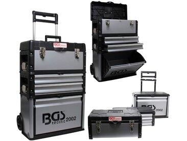 BGS Werkstattwagen 3-tlg., schwarz, schwarz