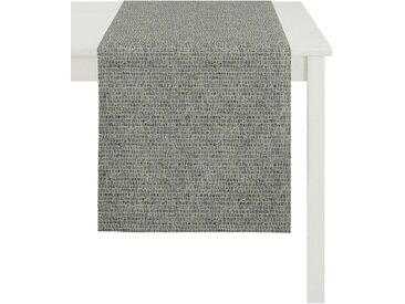 APELT Tischläufer »1103 Loft Style, Jacquard« (1-tlg), grau, anthrazit-taupe