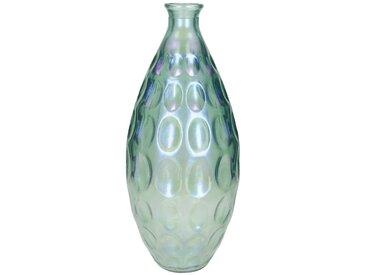 Engelnburg Dekovase » Recycelte Vase Blumenvase Glas Schiller«