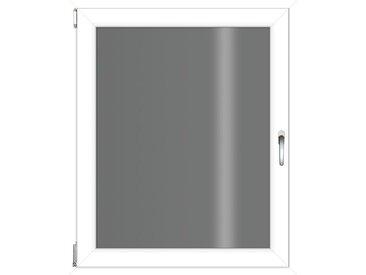 RORO Türen & Fenster RORO TÜREN & FENSTER Kunststoff-Fenster BxH: 60x90 cm, ohne Griff, weiß, links, weiß