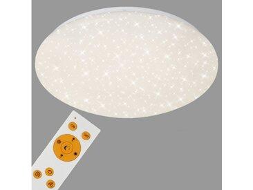 Briloner Leuchten LED Deckenleuchte »Luna«, 1-flammig, Deckenlampe Sternenhimmel CCT Nachtlicht Ø 39cm