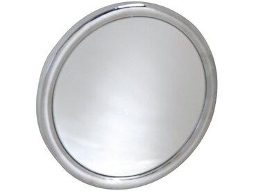MSV Badspiegel »Kosmetikspiegel«, x5, mit Saugnäpfen, silberfarben, silberfarben