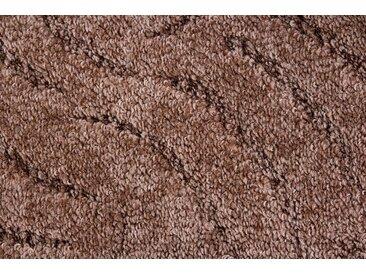 Andiamo ANDIAMO Teppichboden »Amberg«, verschiedene Farben, Breite 400 cm, Meterware, braun, braun