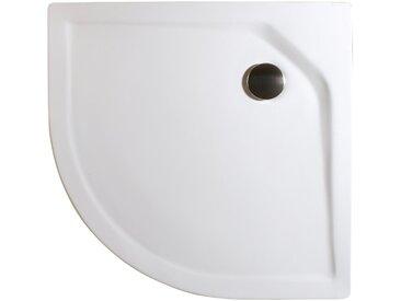 Rundduschwanne »Extraflach«, rund, Sanitäracryl, BxT: 90 x 90 cm