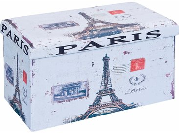Home affaire Kiste »SETTO«, bunt, Paris