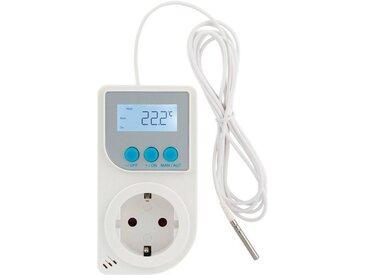 Xavax Steckdosen-Thermostat z.B. für Infrarotheizung, Klimagerät »Steckerthermostat mit Fühler«