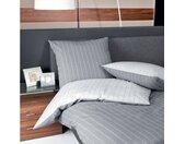 TRAUMSCHLAF Wendebettwäsche »Argentina Silver«, bügelfreie Seersucker Qualität, 1 St. x 155 cm x 220 cm, 2 tlg.