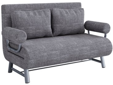 """VCM Schlafsofa »2er Couch mit Schlaffunktion """"Kolan XL""""«, grau, Anthrazit"""