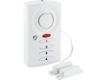 Schwaiger Garagen- und Schiebetürenalarm »Red Secure«, weiß, Weiß