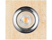 SPOT Light Deckenstrahler »Vitar«, Inklusive austauschbare LED-Leuchtmittel, Naturlicher Sandstein, Naturprodukt aus Naturstein, Made in Europe, gelb