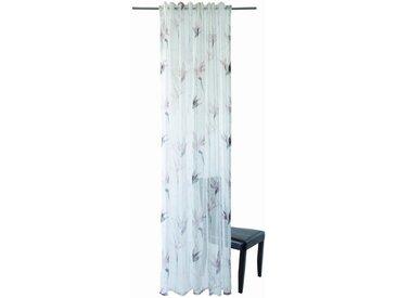 HOMING Vorhang, Homing Schlaufenschal Lycka 140x245 Vorhang Wohnzimmer transparent mauve Deko