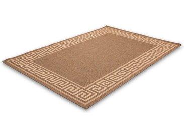 LALEE Teppich »Finca 502«, rechteckig, Höhe 5 mm, Sisaloptik, braun, coffee