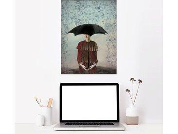 Posterlounge Wandbild, Sprachlos, Premium-Poster