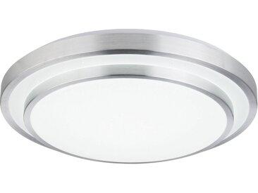 Globo LED Deckenleuchte »INA II«, Nachtlicht, Memory Funktion, DM. 50cm, silberfarben, transparent