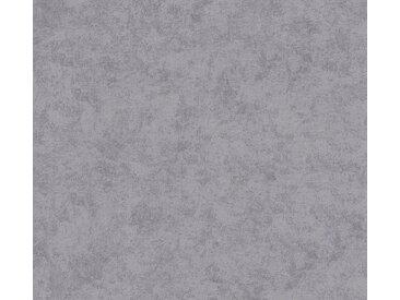 A.S. Création Vliestapete »Neue Bude 2.0 Used Glam Vintage Uni Optik«, strukturiert, uni, grau, grau