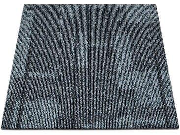 casa pura Teppichfliese »Andorra«, Quadratisch, Höhe 6 mm, Selbstliegend, grau, Grau 03
