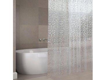MSV Duschvorhang »PREMIUM EVA ODENSE«, Breite 180 cm, weiß, transparent