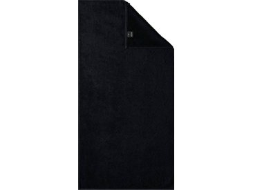 Joop! Handtücher »Uni Cornflower« (2-St), mit gewebtem Cornflower Muster, schwarz, black